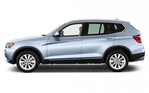 2012 BMW X3 AWD 4-door 28i Side Exterior View