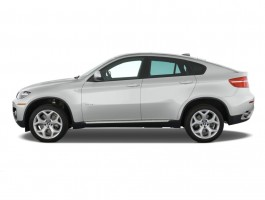 2012 BMW X6 AWD 4-door 35i Side Exterior View