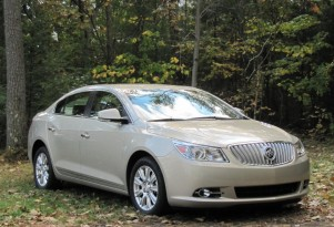 2012 Buick Lacrosse With eAssist: Mild Hybrid Weekend Drive