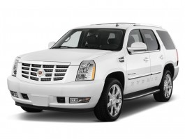 2012 Cadillac Escalade Hybrid 2WD 4-door Angular Front Exterior View