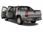 "2012 Chevrolet Avalanche 2WD Crew Cab 130"" LTZ Open Doors"