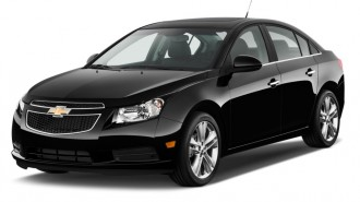 2012 Chevrolet Cruze 4-door Sedan LTZ Angular Front Exterior View
