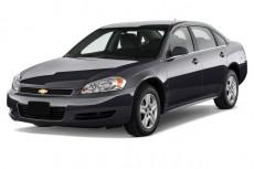 2012 Chevrolet Impala 4-door Sedan LS Retail Angular Front Exterior View