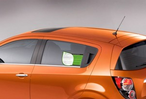2012 Chevy Sonic Will Debut GMs EcoLabel, But What Is It?