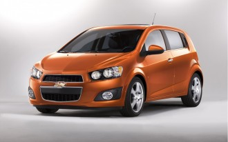 2012 Chevrolet Sonic Named An IIHS Top Safety Pick