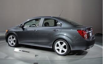 New Small Cars: 2012 Chevy Sonic, Nissan Versa, Hyundai Accent, Kia Rio