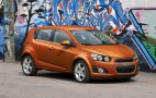 2012 Chevrolet Sonic Subcompact Nabs IIHS Top Safety Pick