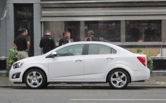 2012 Chevrolet Sonic: Recall Alert