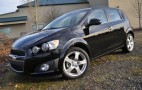 2012 Chevy Sonic Turbo Now Available With An Automatic Transmission