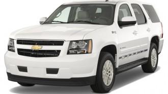 2012 Chevrolet Tahoe Hybrid 2WD 4-door Angular Front Exterior View