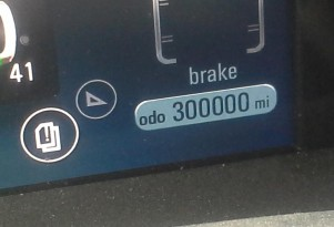 Durable 2012 Chevrolet Volt: 300,000 miles, no battery loss