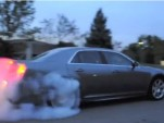 2012 Chrysler 300 SRT8 Doing Burnout