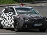 2011 Chevrolet Cruze-based Buick sedan spy shots