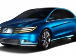 2012 Denza New Energy Vehicle (NEV) concept