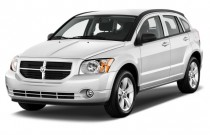 2012 Dodge Caliber 4-door HB SXT Angular Front Exterior View