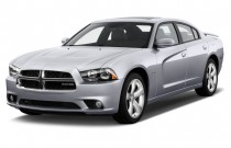 2012 Dodge Charger 4-door Sedan RT Max RWD Angular Front Exterior View