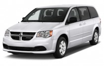 2012 Dodge Grand Caravan 4-door Wagon SE Angular Front Exterior View