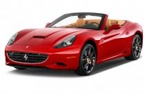 2012 Ferrari California 2-door Convertible Angular Front Exterior View
