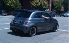 Snapped on the Street: Fiat 500 Electric Car Visits Palo Alto