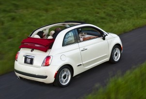 2012 Fiat 500 Cabriolet: Best Gas-Mileage 4-Seat Convertible You Can Buy