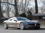 2012 Fisker Karma EcoChic, New York City, Jan 2012