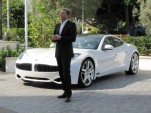 Henrik Fisker, CEO &amp; founder, Fisker Automotive, at 2012 Fisker Karma event, Los Angeles, Feb 2012