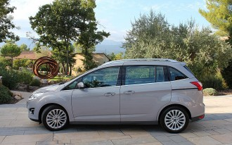 2012 Ford C-Max: Live Photos and Video, Plus a Magic Seat