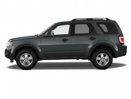 2012 Ford Escape 4WD 4-door XLT Side Exterior View