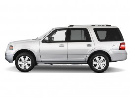 2012 Ford Expedition 2WD 4-door Limited Side Exterior View