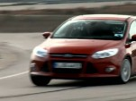 Justin Bell and Tanner Foust drive the 2012 Ford Focus