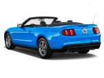 2012 Ford Mustang 2-door Convertible Premium Angular Rear Exterior View