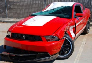2012 Ford Mustang Boss 302 Crashed And Sold On eBay
