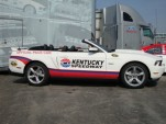 Kentucky Speedway 2012 Ford Mustang Pace Car