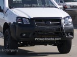 2012 Ford Ranger spy shots
