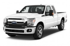 2012 Ford Super Duty F-250 2WD SuperCab 142&quot; Lariat Angular Front Exterior View