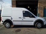 2012 Ford Transit Connect 'glider' intended for electric conversion, as offered on eBay Motors