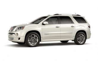 Buick Enclave, Chevrolet Traverse, GMC Acadia, Saturn Outlook Recalled For Liftgate Failures