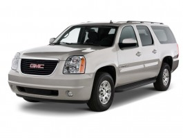 2012 GMC Yukon XL 2WD 4-door 1500 SLT Angular Front Exterior View
