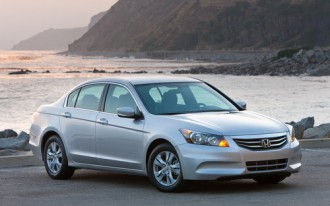 2012 Honda Accord, Crosstour: Recall Alert