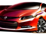2011 Detroit Auto Show Preview: New 2012 Honda Civic Concept