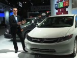 2012 Honda Civic HF 41-MPG Model: Video Tour, NY Auto Show