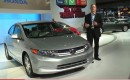 2012 Honda Civic Hybrid at New York Auto Show, April 2011