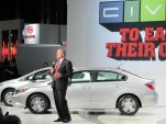 2012 Honda Civic launch, New York Auto Show, April 2011