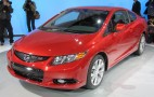 2012 Honda Civic Priced From $15,605: 2011 New York Auto Show Live Photos