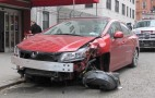 How Did This 2012 Honda Civic Si Get So Strangely Mangled?
