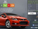 2012 Honda Civic 'Study Break' sweepstakes