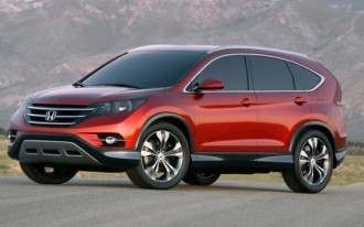 Redesigned 2012 Honda CR-V To Launch On Schedule