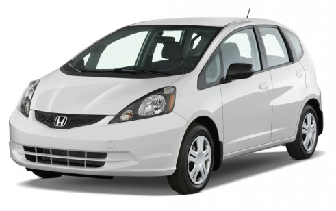 2012 Honda Fit 5dr HB Auto Angular Front Exterior View