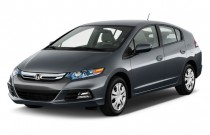 2012 Honda Insight 5dr CVT Angular Front Exterior View