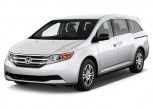 2012 Honda Odyssey 5dr EX Angular Front Exterior View